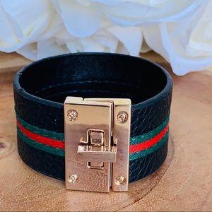 Jewelry - Leathered Bracelet.